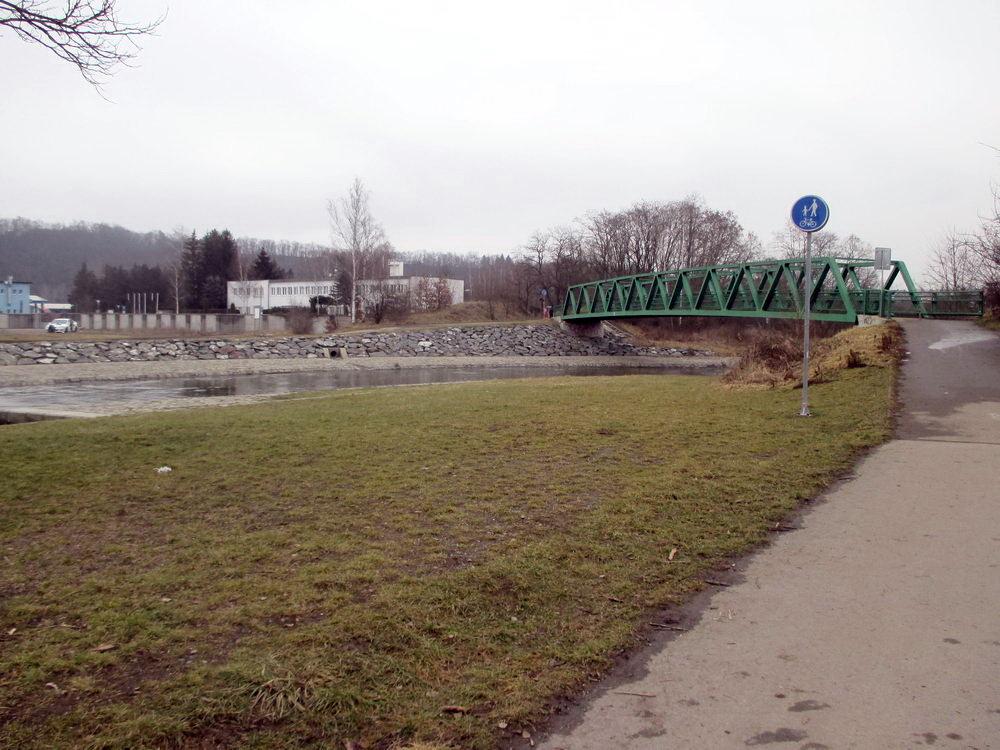 Procházka v Plzni - Most u střelnice