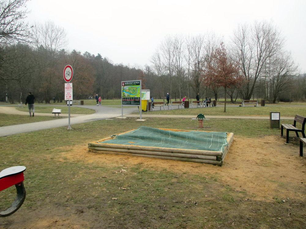 Procházka v Plzni - Božkovský ostrov