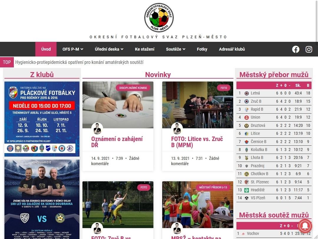 Okresní fotbalový svaz Plzeň-město